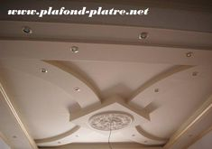réalisation du T Brahim Gypsum Design, Gypsum Ceiling Design, House Ceiling Design, Ceiling Design Living Room, Bedroom False Ceiling Design, Roof Design, Ceiling Decor, Latest False Ceiling Designs, Simple False Ceiling Design