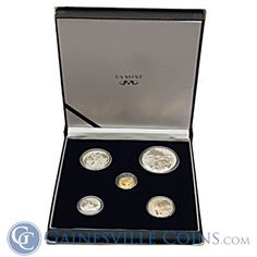 2002 South Africa Wildlife Series Proof Silver Elephant Coin Set http://www.gainesvillecoins.com/