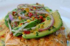 Receitas Supreme – Receita de salmão grelhado com abacate