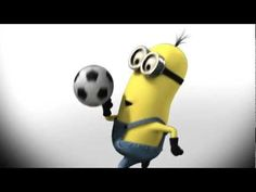 Minions playing soccer - YouTube