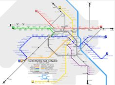 😍 Delhi metro map download