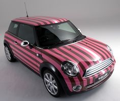 Pink Striped Mini