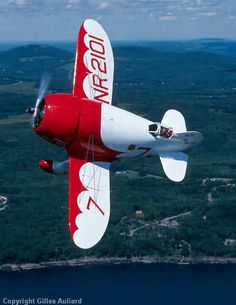 ..._Gee Bee Super Sportster was created by the Granville Brothers as a racing plane.