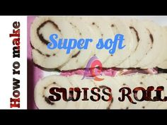 How to make SWISS ROLL - YouTube Rolls, Cooking Recipes, Youtube, How To Make, Bread Rolls, Recipes, Bunny Rolls