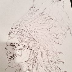 My #workinprogress :) native indian artwork, might draw a howling wolf in the top left corner then either paint it or #prismacolor paint it :) #nature #native #indian #wolf #eagle #spirit #totem #art #drawing #design #creative #boho #vintage # gypsy #wild #freedom #tattoo #tattoodesign