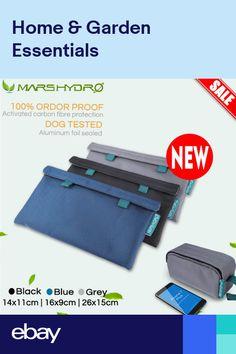 Aluminum Foil Smell Proof Bags Food /& Herb Stash Odour Buster Grip Lock Mylar