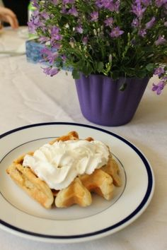 cinnamon chip waffles Giant Cupcakes, Yummy Cupcakes, Breakfast Ideas, Breakfast Recipes, Cinnamon Chips, Summer Activities, Waffles, Breads, Sweet Tooth