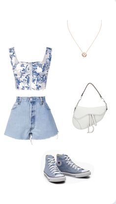 Kpop Fashion Outfits, Girls Fashion Clothes, Mode Outfits, Retro Outfits, Cute Casual Outfits, Stylish Outfits, Looks Chic, Looks Style, Polyvore Outfits