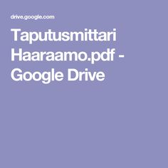 Taputusmittari Haaraamo.pdf - Google Drive