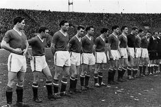 Manchester United 1958 - the final match.
