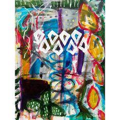 Helen Billett, Rebel Cactus Acrylic on Canvas. Prints available.