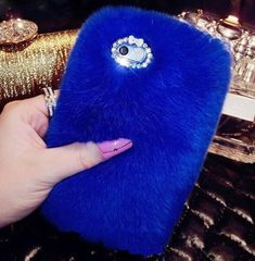 iPhone 7 Plus CaseInspirationc Luxury Stylish Bling Fluffy Cover Plush Rabbit Hair Fur Cases Decorative Handmade Cover for Apple iPhone 7 Plus InchBlue *** To view further for this item, visit the image link. (This is an affiliate link) Apple Iphone 6, Iphone 10, Fluffy Phone Cases, Bow Cases, Hair Cover, Bling, Luxury Hair, Iphone 7 Plus Cases, Skin Case