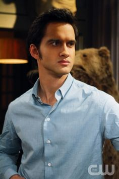 """A Tale of Two Parties""--Michael Steger as Navid Shirazi on 90210 on The CW. Photo: Scott Alan Humbert/The CW ©2012 The CW Network. All Rights Reserved."