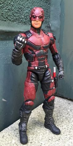 Daredevil (Netflix Red Suit MCU) Custom Action Figure