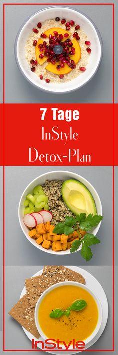 7 Tage Detox Plan: So entgiftest du deinen Körper ohne zu hungern!