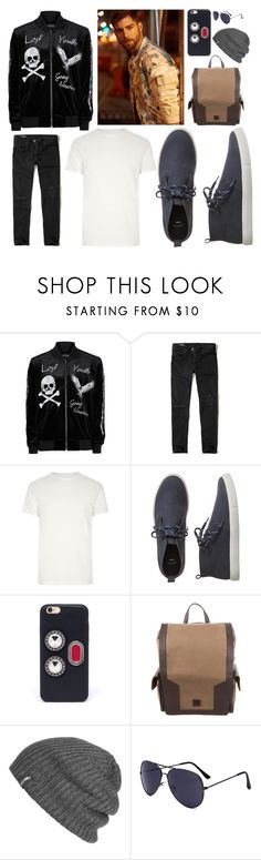 """Hayden O'Connor 1"" by hannah-graves ❤ liked on Polyvore featuring Topman, Hollister Co., River Island, Gap, Fendi, Dunhill, Outdoor Research, men's fashion and menswear"