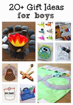 20  DIY Gift Ideas for Boys ~ One For The Boys
