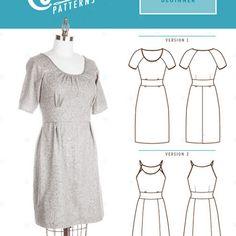 Colette No. 1031 - Dahlia⎜Dress Pattern