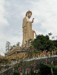 Amitabha Buddha in Fo Guang Monastery, Taiwan