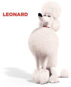 Leonard illedelmes, pedáns, rendes kutyának tűnik, de amikor a gazdája elmegy otthonról, akkor jön elő az igazi személyisége.