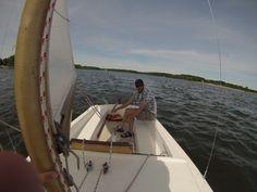 O'Day Daysailer 2, Father's Day sail.
