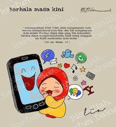 166 Kartun Dakwah Images Pinterest Muslim Quotes Islamic Berhala Foto
