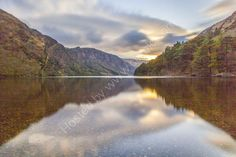 Upper Lake, Glendalough, Wicklow Mountains National Park