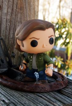 Supernatural Funko Pop Sam Winchester Repaint