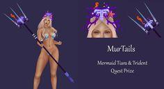 Merchant: MurTails Prize Name: Mermaid Tiara & Trident Prize Type: Accessory Trident, Mermaid, Type, Movies, Movie Posters, Film Poster, Films, Popcorn Posters, Film Books