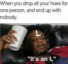 funny, meme, and 21 savage image