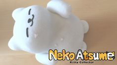 DIY Plush Tubbs from Neko Atsume - YouTube