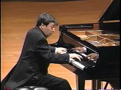 Murray Perahia plays Beethoven's Moonlight Sonata 3rd Movement [HQ].  Most people only know the first movement, but 3 is furious.  I love it.