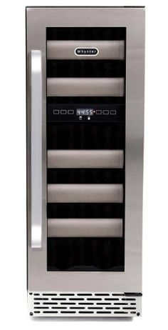 Built-In Wine Cellars - Whynter BWR171DS Elite 17Bottle Seamless Stainless Steel Door Dual Zone Builtin Wine Refrigerator * You can get additional details at the image link.