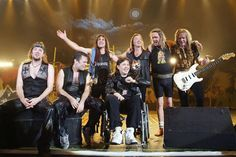 Iron Maiden with Clive Burr
