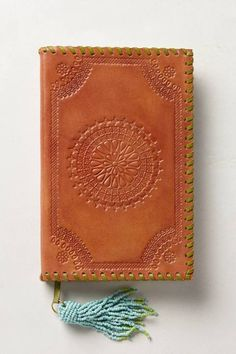 Embossed Leather Journal #luvocracy