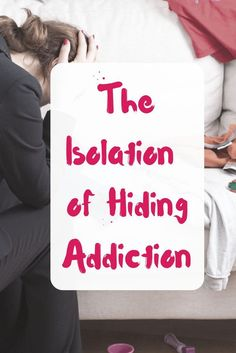 The isolation of hiding addiction takes a physical and mental toll on us. The reality is, it's not our job to protect an alcoholic husband. How To Cure Depression, Addiction Help, Addiction Recovery, Hiding Alcohol, Loving An Addict, Separation And Divorce, Feeling Alone, Coping Skills