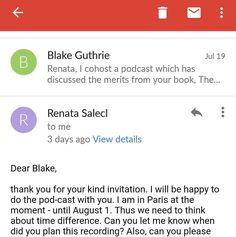 """Here's yet another profoundly motivating email from an author whose work has consistently moved my mind around.  For those who aren't aware (and why would you be?), I cohost a weekly podcast with my dear friend Preston. We talk about books, emotions, ideas, and so on. I don't promote it often, but I will go ahead and recommend you listen to our catalogue of fifteen episodes, especially the episode which will be published tomorrow.  Look up """"Need For Nuance"""" on any podcasting client - or…"""