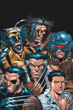 """wolverineholic: """" from Exiles #85 Cool"""