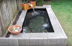 This video shows step by step how to build a backyard above ground pond with waterfall / filter for less than $400. This could be a good project to adapt and help support an aquaponics growing operation to keep your fish in, and filter the water from the fish pond into your grow beds.  The materia
