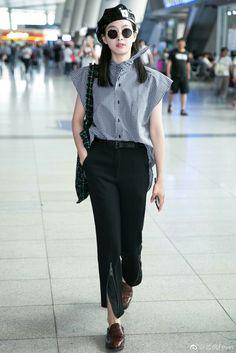 Victoria Song f(x) Beijin Airport