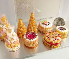 Snowfern Clover - miniature foods 1:12, 1:24 & 1:48 dollhouse scale