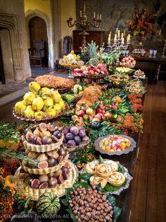 Georgian Harvest Festival Food Genevieve Taylor @BBCFoodProg  #Poldark