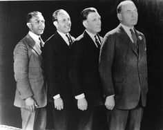 Albert Warner, Sam Warner, Harry Warner and Jack Warner (Warner Brothers)