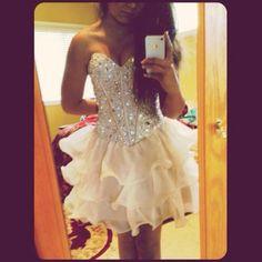 Sexy Rhinestone Homecoming Dresses,Sweetheart Prom Dress,Cute Layers Homecoming Dresses,Cheap Beaded Homecoming Dress