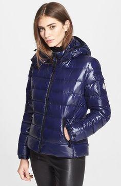 Blue Moncler Bady down jacket