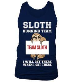 Sloth Running Team   #hoodie #ideas #image #photo #shirt #tshirt #sweatshirt #tee #gift #perfectgift #birthday #Christmas #yoga