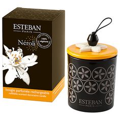 Buy Esteban Neroli Scented Decorated Candle Online at johnlewis.com