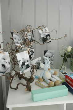 Trollhassel gren for å henge bilder på📸🖼 Boy Baptism, Christening, Baby Event, Baby Boy Shower, Kids And Parenting, Baby Love, Christmas Diy, Diy And Crafts, Kids Room
