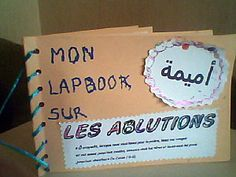 lapbook sur les ablutions