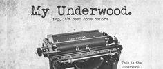My Underwood font